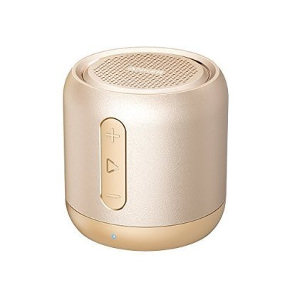 Anker SoundCore mini Portable Bluetooth Speaker with 15-Hour Playtime – Golden