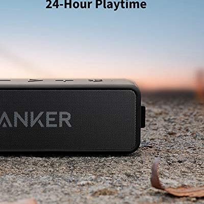 Anker Soundcore 2 Portable Bluetooth Speaker with 12W Stereo Sound IPX7 Waterproof
