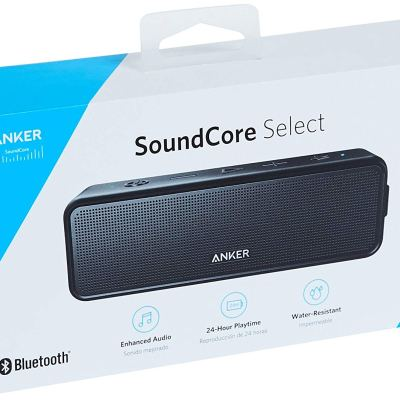 Anker SoundCore Select 12W Portable Bluetooth Speaker 24-Hour Playtime