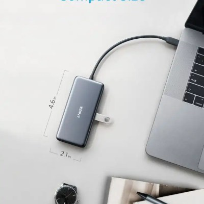 Anker PowerExpand+ 7-in-1 USB C Hub Adapter with Power Delivery