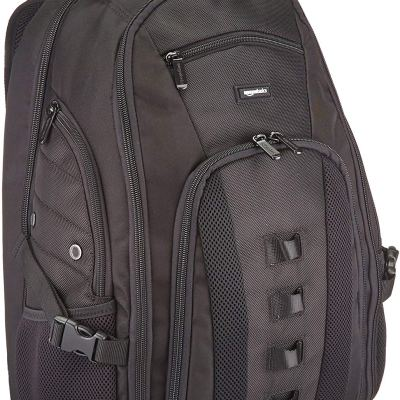 AmazonBasics Travel 17 Inch Laptop Computer Backpack