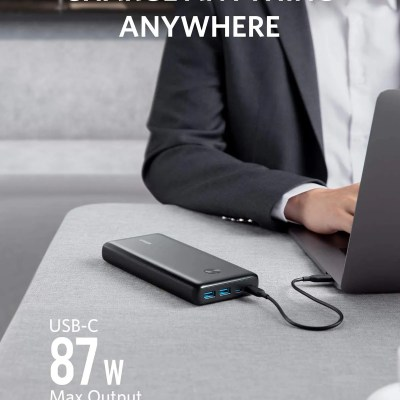 Anker PowerCore III Elite 25600 87W Power Delivery Portable Charger for Laptop