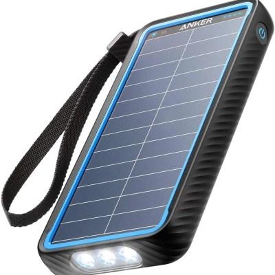 Anker PowerCore Solar 10000 18W USB-C Power Bank