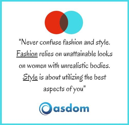 fashion and style quote