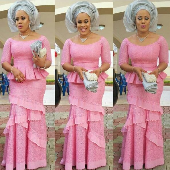nigerian fashion and style aso ebi blouse and skirts