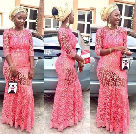 trendy aso ebi lace styles