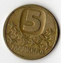 Finlandia 5 Markkaa - 1983