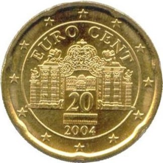 AUSTRIA 20 CENTESIMI