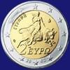 Grecia 2 euro (S) zecca Spagna - 2002