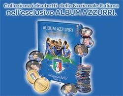 Album raccoglitore dischetti Azzurri 2010