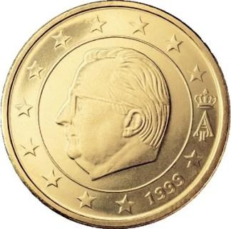 BELGIO 50 CENTESIMI - 1999-2007