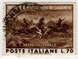 150º anniversario dell'arma dei carabinieri, 1964
