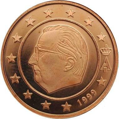 BELGIO 5 CENTESIMI - 1999-2007