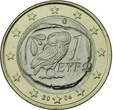 GRECIA 1 EURO - 2002
