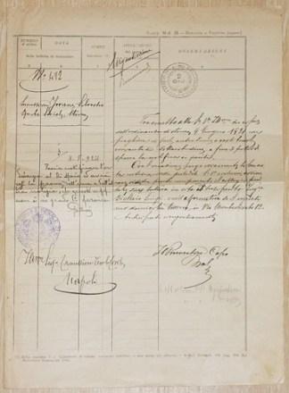 Comunicazione tra uffici 1924