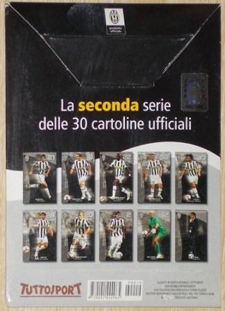 10 CARTOLINE UFFICIALI JUVENTUS - 2009