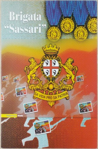 """folder - Brigata """"Sassari"""""""