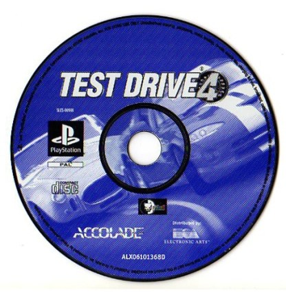 TEST DRIVE 4 - PS