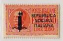 Effigie di Vittorio Emanuele III entro un ovale, arancio