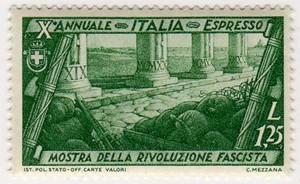 Decennale della marcia su Roma, espressi, 1,25 Lire, 1932