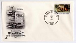 U.S.A. busta F.D.C. - 07/12/1991