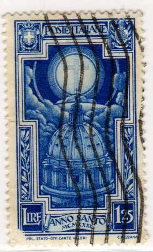 Anno Santo, 1,25 Lire, 1933