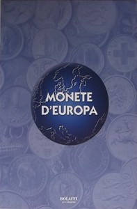 "Album raccoglitore ""Monete d'Europa"""