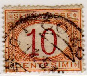 Segnatasse 1870 - 1890