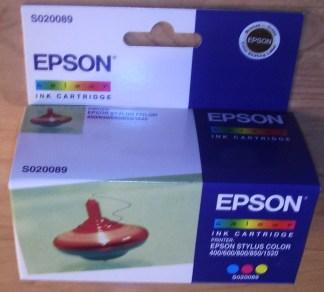 Epson S020089 Y C M