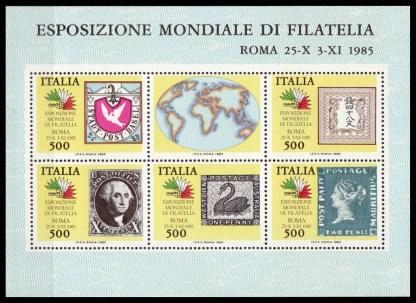 Esposizione mondiale di filatelia 1985