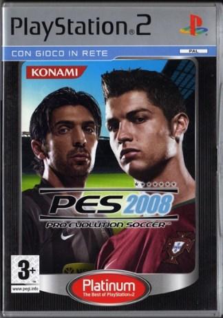 PES 2008 - PS2