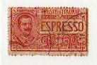 ESPRESSO VITTORIO EMANUELE III 60 CENTESIMI 1922