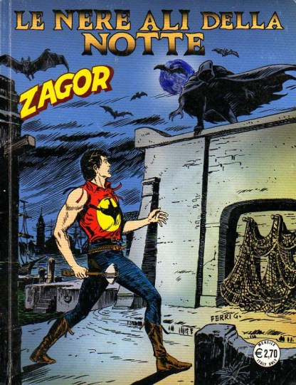 Zagor, 576, Le nere ali della notte