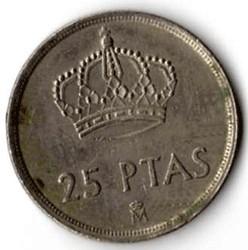 SPAGNA 25 PESETAS - 1982