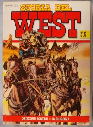 Storia del west N° 9