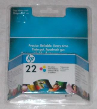 Cartuccia HP 22 C+Y+M C9352AE