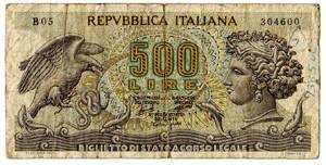 Italia 500 lire