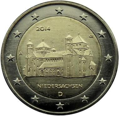 Germania 2 euro Niedersachsen 2014