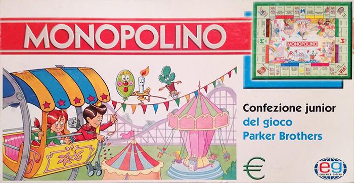 Monopolino junior euro - Editrice giochi
