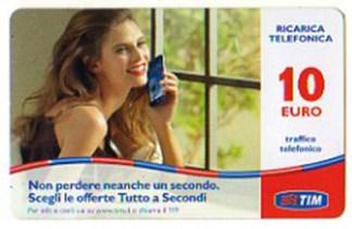 Scheda ricarica telefonica