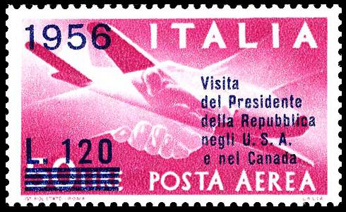 1956 Visita del Presidente della Repubblica negli U. S. A. e nel Canada