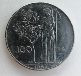 Italia 100 Lire 1964