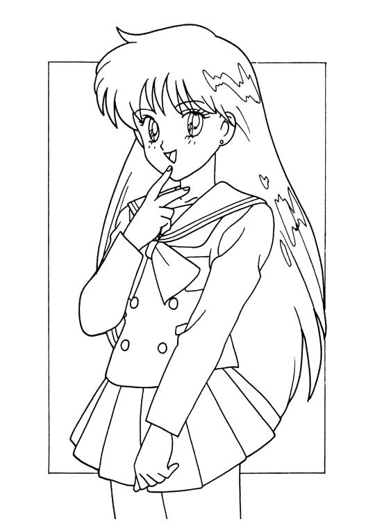 anime coloring book printables bi xa picture