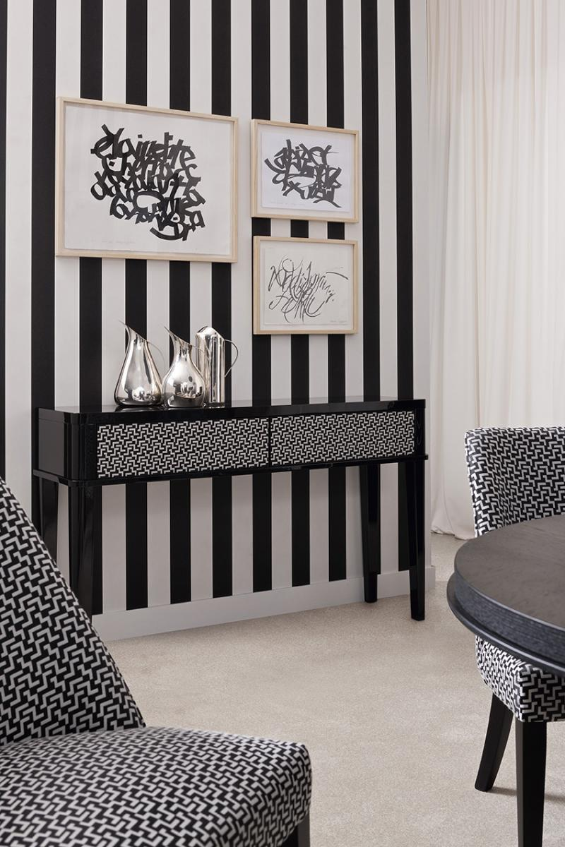 Geometric Patterns Triumph Dining Room Oasis Rooms