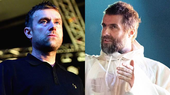 Damon Albarn, Liam Gallagher