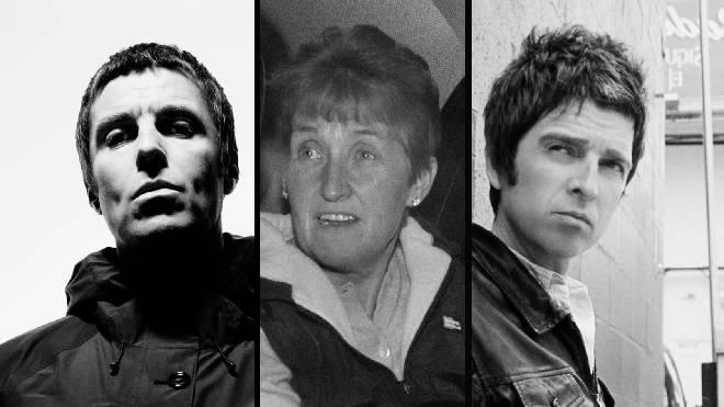 Liam Gallagher, Peggy Gallagher, Noel Gallagher