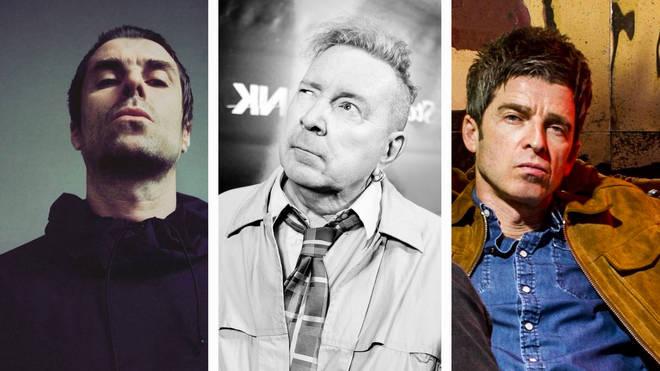 Liam Gallagher, John Lydon, Noel Gallagher