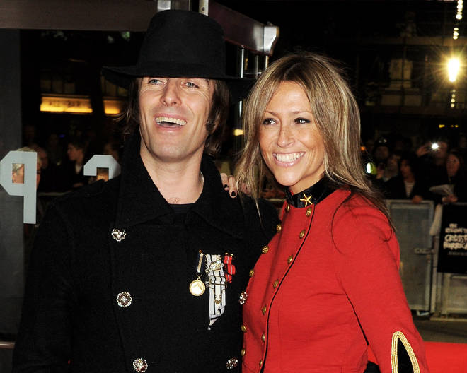Liam Gallagher and ex-wife Nicole Appleton