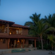 Casa Oasis Troncones in the Moonlight