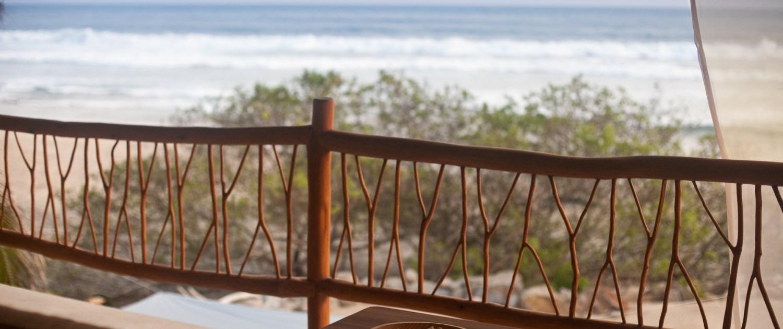 Casa Oasis Troncones Penthouse flat ocean view sofa